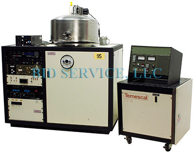 Temescal SCT/BJD 2400 E-Beam Evaporator