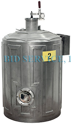 Miscellaneous Stainless Steel Bell Jar