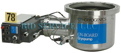 CTI Onboard 10F On-Board Cryopump