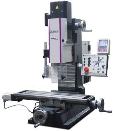 Desktop milling machine Optimum MH25SV in Moscow, Russia