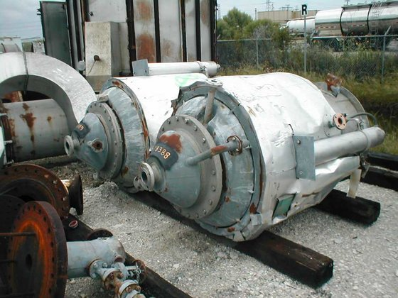 1987 FABRICATED PRODUCTS JACKETED TANK
