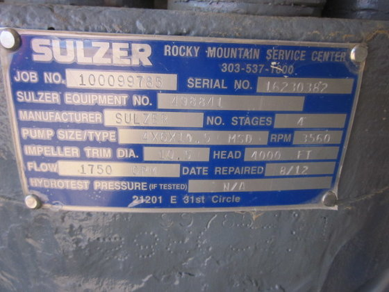 Sulzer msd 106353 in la porte tx usa for La porte texas usa