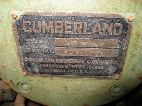 CUMBERLAND 10X12 GRANULATOR in La