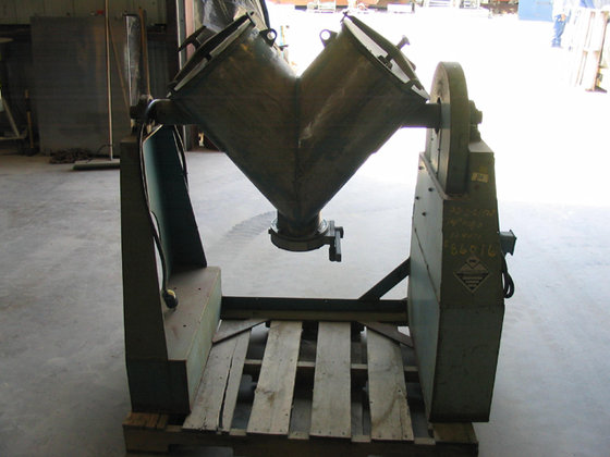 PATTERSON-KELLEY TWIN SHELL MAX. MATERIAL