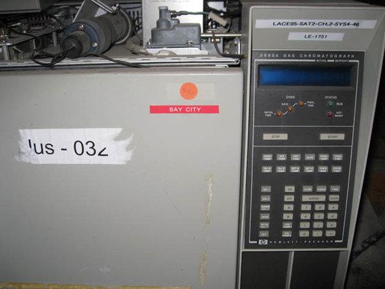 HEWLETT PACKARD 5890-A GAS CHROMATAGRAPH