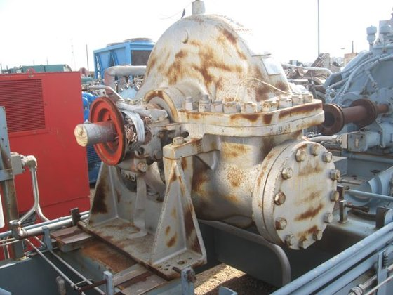 WESTINGHOUSE EH-125 NON-CONDENSING STARTER TURBINE