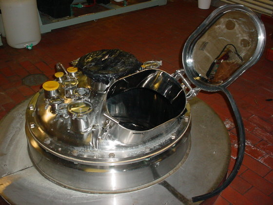 1998 PRECICSION STAINLESS JACKETED TANK