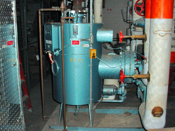 1988 patterson kelley compact series 400 small water for La porte tx water department