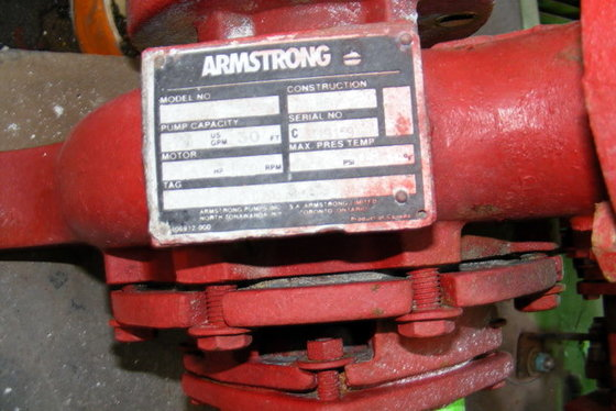 1981 ARMSTRONG EXCHANGER in La