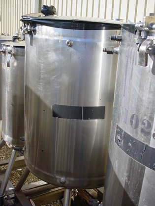 MUELLER JACKETED TANK WITH INTERNAL