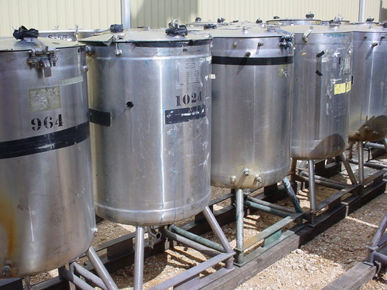 WALKER STAINLESS JACKETED TANK WITH