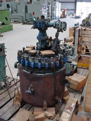 PFAUDLER DWV-50210AKC GLASS LINED REACTOR