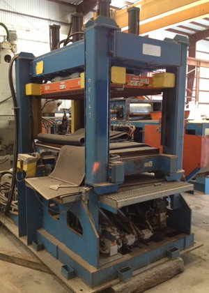 CONTEK A141 HEATED PLATEN HYDRAULIC