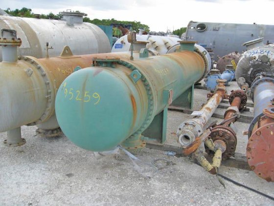 1992 OHMSTEDE CAUSTIC COOLER in