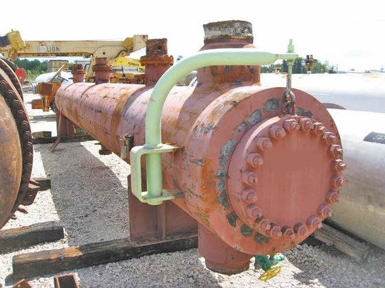 STRUTHERS WELLS RECYCLE GAS CHILLER