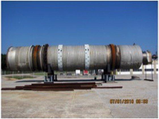 DAVENPORT 12X65 ROTARY STEAM TUBE