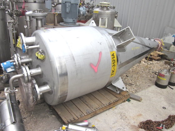 1998 PRECISION STAINLESS 1100 LITER