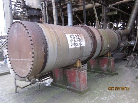 WILTON ENGINEERING STRIPPER REBOILER in