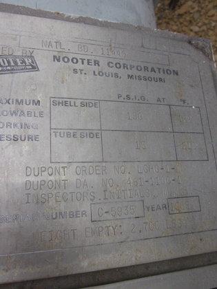 1985 NOOTER EXCHANGER in La