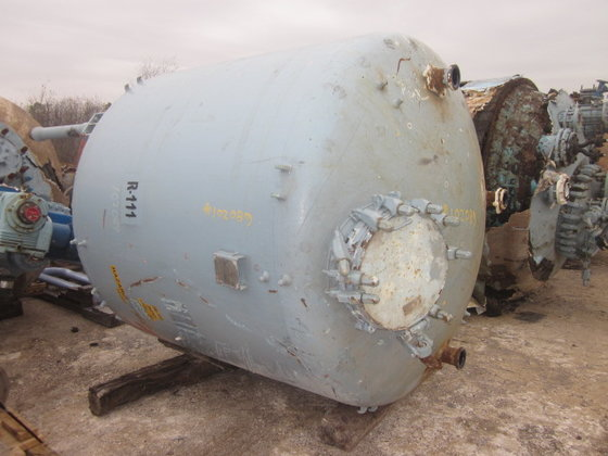 1984 PFAUDLER RECEIVER TANK in