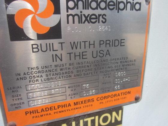 PHILADELPHIA 3838SPTO TOP MOUNTED AGITATOR
