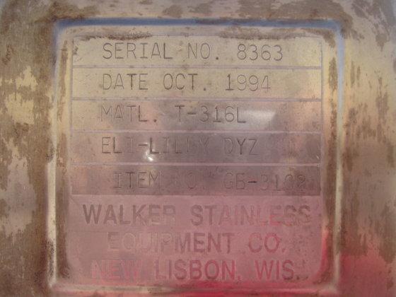 1994 WALKER STAINLESS GLOVE BOX
