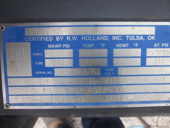 1991 R. W. HOLLAND METHANOL