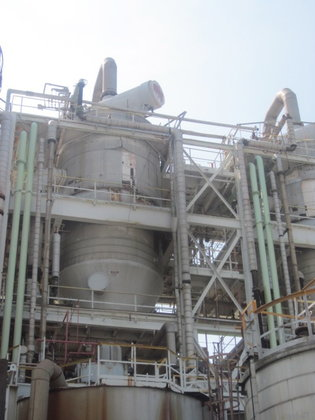 STRUTHERS WELLS CRUDE CRYSTALLIZER in