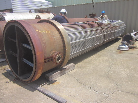 1982 FABRICATED PRODUCTS ESTERIFIER PREHEATER
