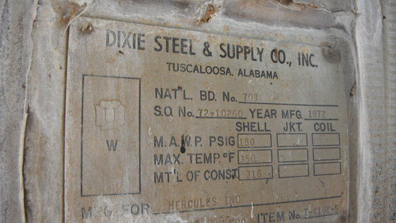 DIXIE STEEL FLOAT TANK in