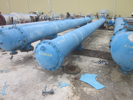 SHELL AND TUBE INC EXCHANGER