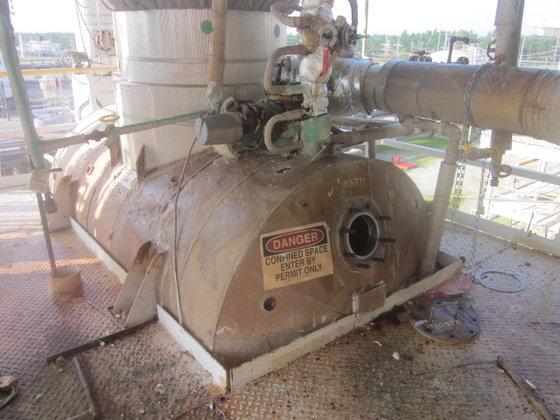 BROWN STEEL VACUUM RECEIVER in