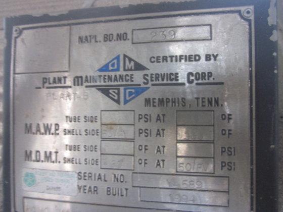 1994 PLANT MAINTENANCE EXTRACT STORAGE