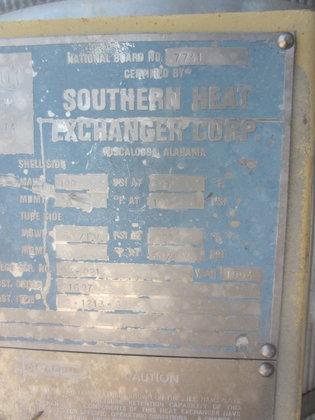 1994 SOUTHERN HEAT EXCHANGER SPLITTER