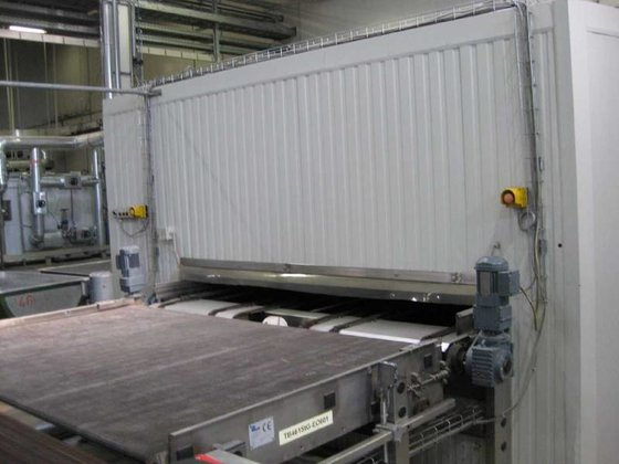 2000 Kaak Continuous proofer in