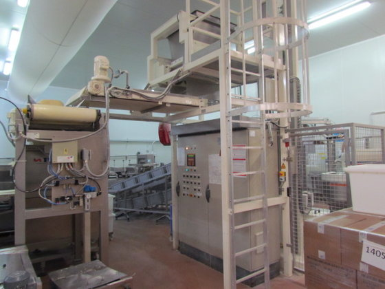 VMI Spiral Knet.Karussell with weighing