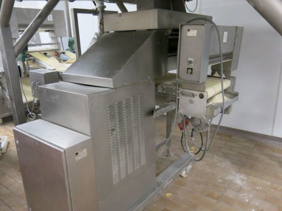 Fritsch Dough-tour laminating line in