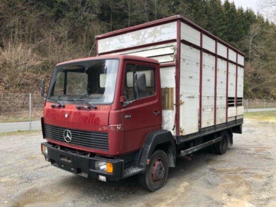 Lieblings Gebraucht 1989 Mercedes-Benz 814 Viehtransporter in Lüdenscheid #IP_29