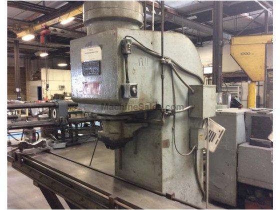 75 Ton Hannifin C-Frame Straightening Press in Santa Ana, CA, USA