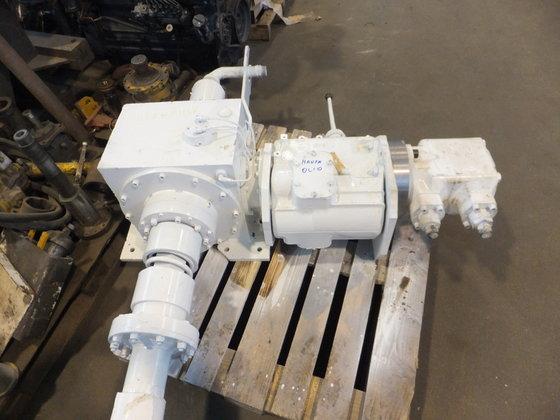 Rotary head- torque 2000 kgm