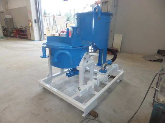 Beretta Mixing-injection unit in Fidenza,