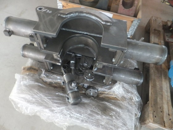 Double clamp passage 260 mm