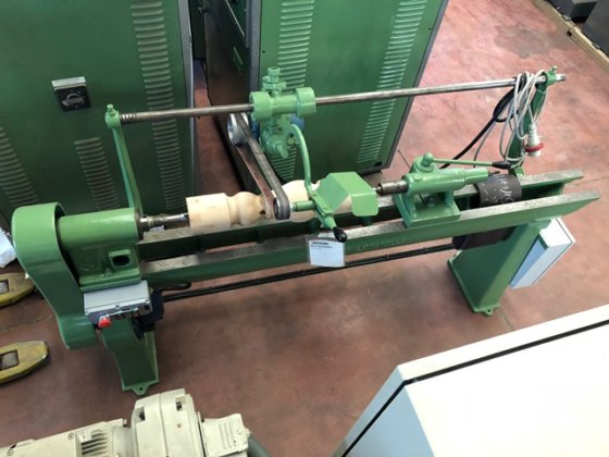 Sanding Machine For Turned Locatelli In
