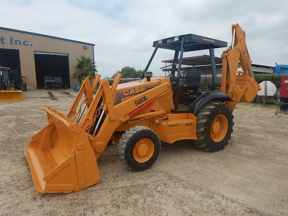 2006 CASE 580L 4X4 in Laredo, TX, USA