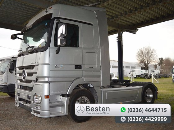 2017 mercedes benz actros in misiones province argentina for Mercedes benz argentina