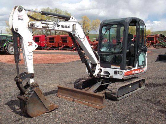 2008 BOBCAT 331 in Sheridan, WY, USA
