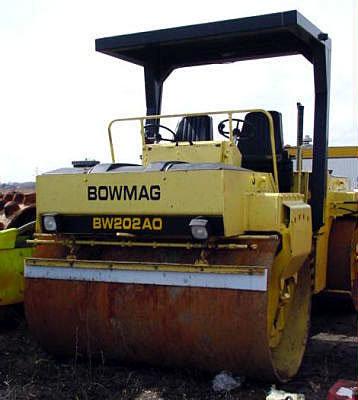 1990 BOMAG BW202 in Winnipeg,
