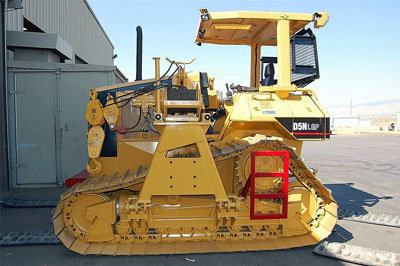 2004 CATERPILLAR D5N LGP in