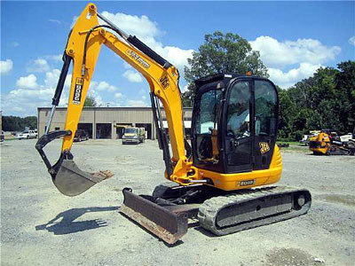 2008 JCB 8055RTS in Little