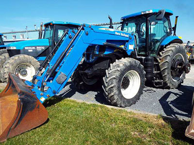 2008 New Holland Agriculture T7000